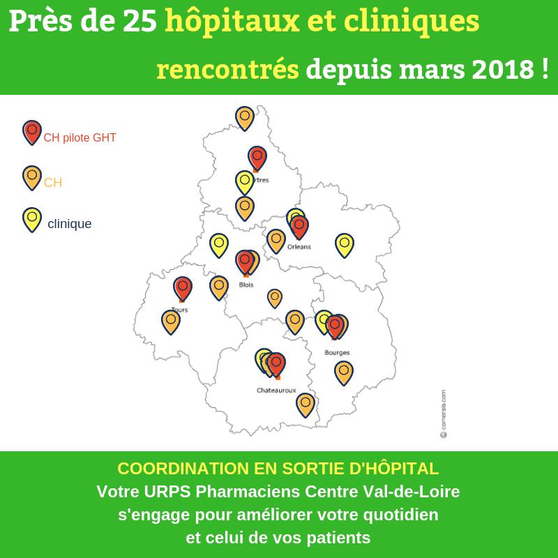 carte région Centre-Val de Loire
